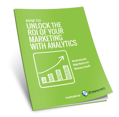 unlock the roi of marketing with analytics